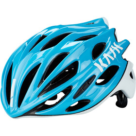 Kask Mojito X Cykelhjelm, light blue/white